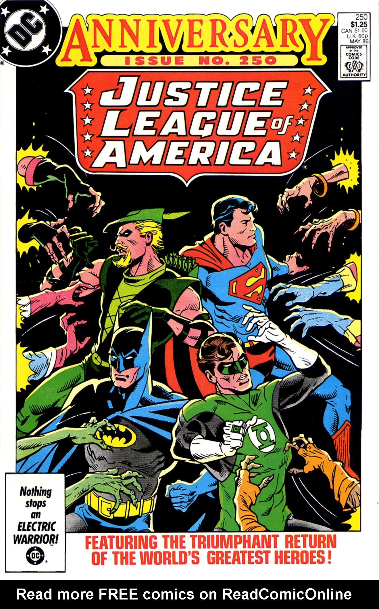 Justice League of America (1960) 250 Page 1