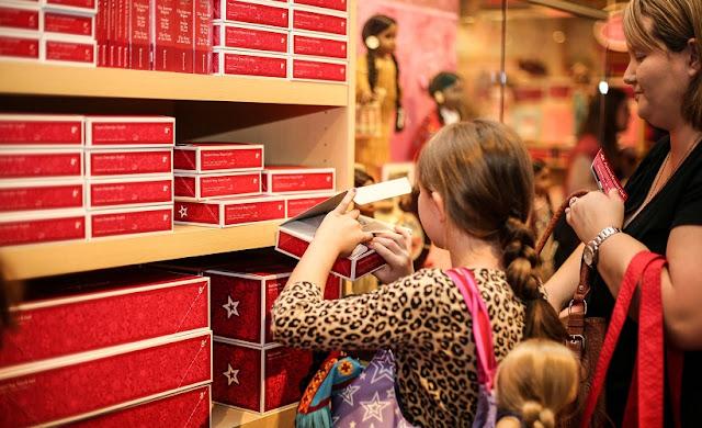 Informações sobre a loja de brinquedos American Girl Place em Los Angeles
