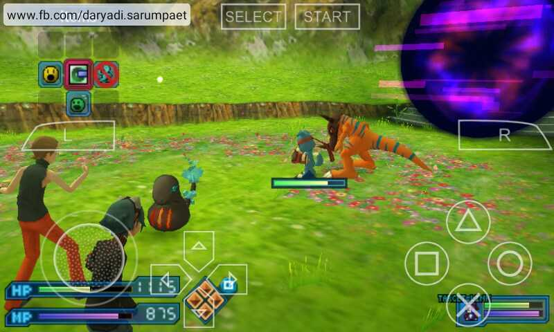 Digimon World RE:Digitize (English Patched) PSP Game on