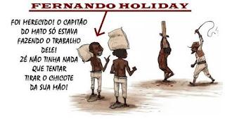Panfleto insinuando que Holiday seria um capitão do mato