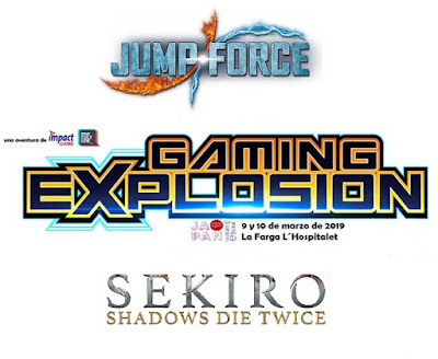 SEKIRO y JUMP FORCE en Japan Weekend Barcelona.