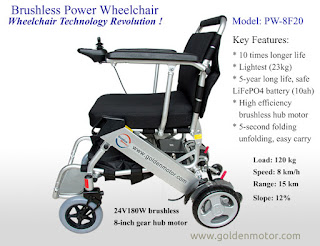 Golden Motor Electric Wheelchair