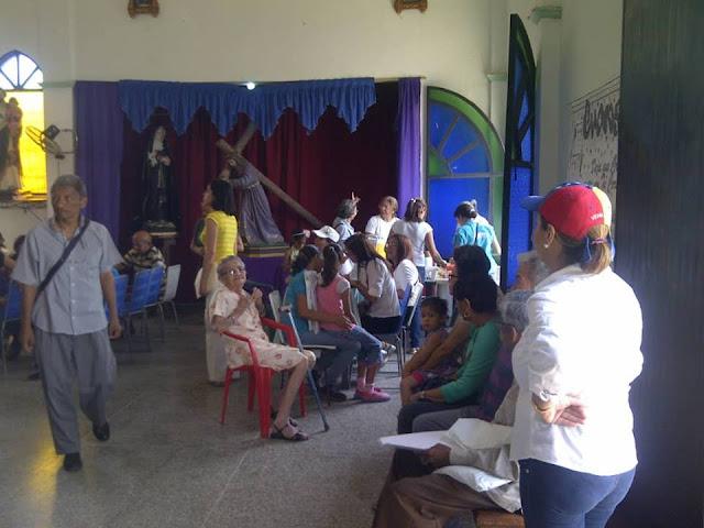 APURE: Efectuado registro de pacientes que califican para ayuda humanitaria en iglesia Coromoto de San Fernando.