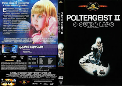 Poltergeist 2 - O Outro Lado (Poltergeist II: The Other Side) DVD Capa