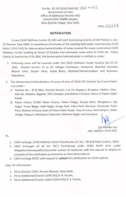 areas-covered-under-cghs-wellness-centre-dwarka-sector-23