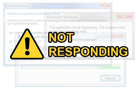 8 Penyebab Munculnya Not Responding Pada PC (komputer/laptop)