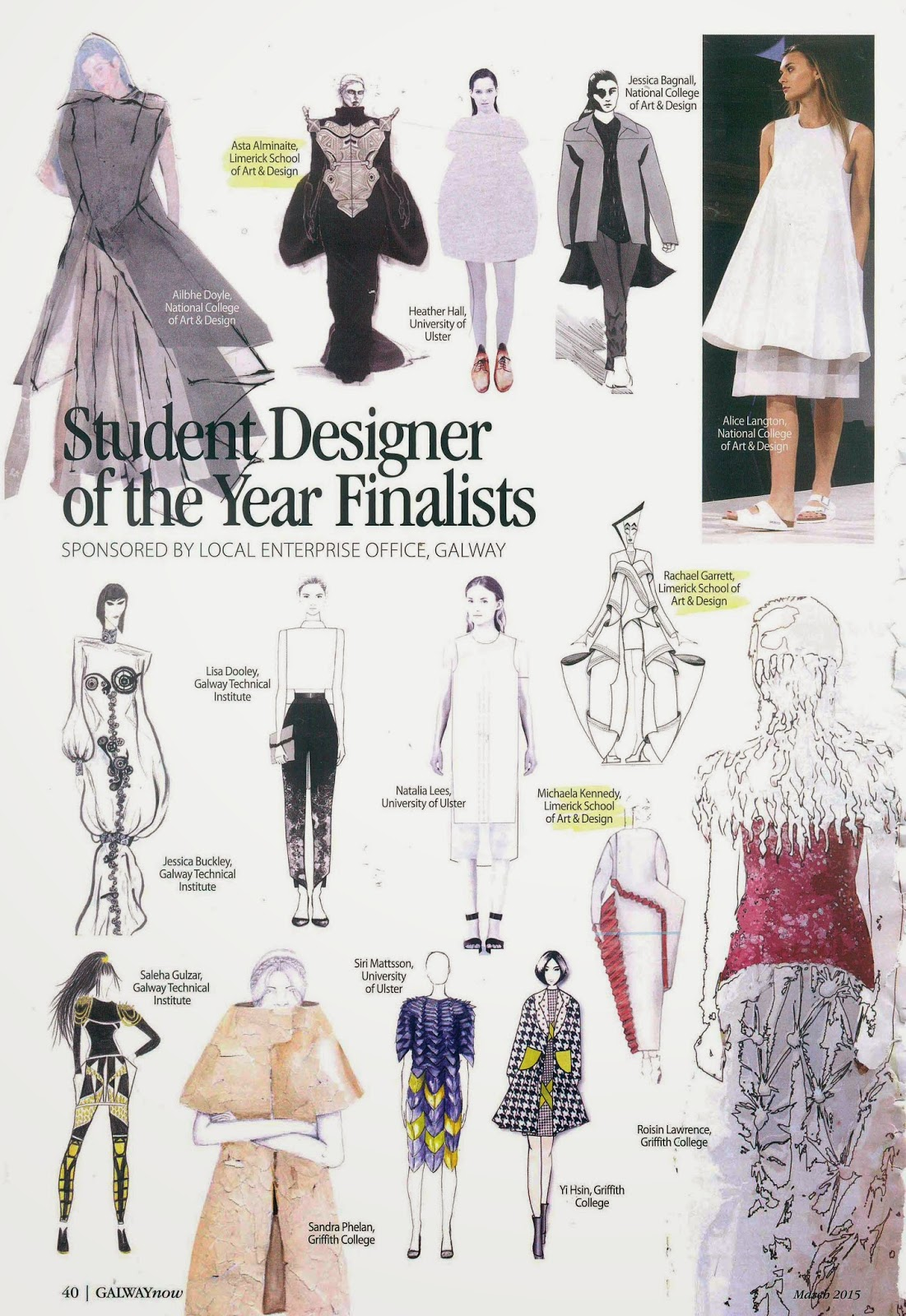 National School Of Fashion Arts And Design School Style
