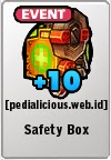 Rare Gear LostSaga Safety Box