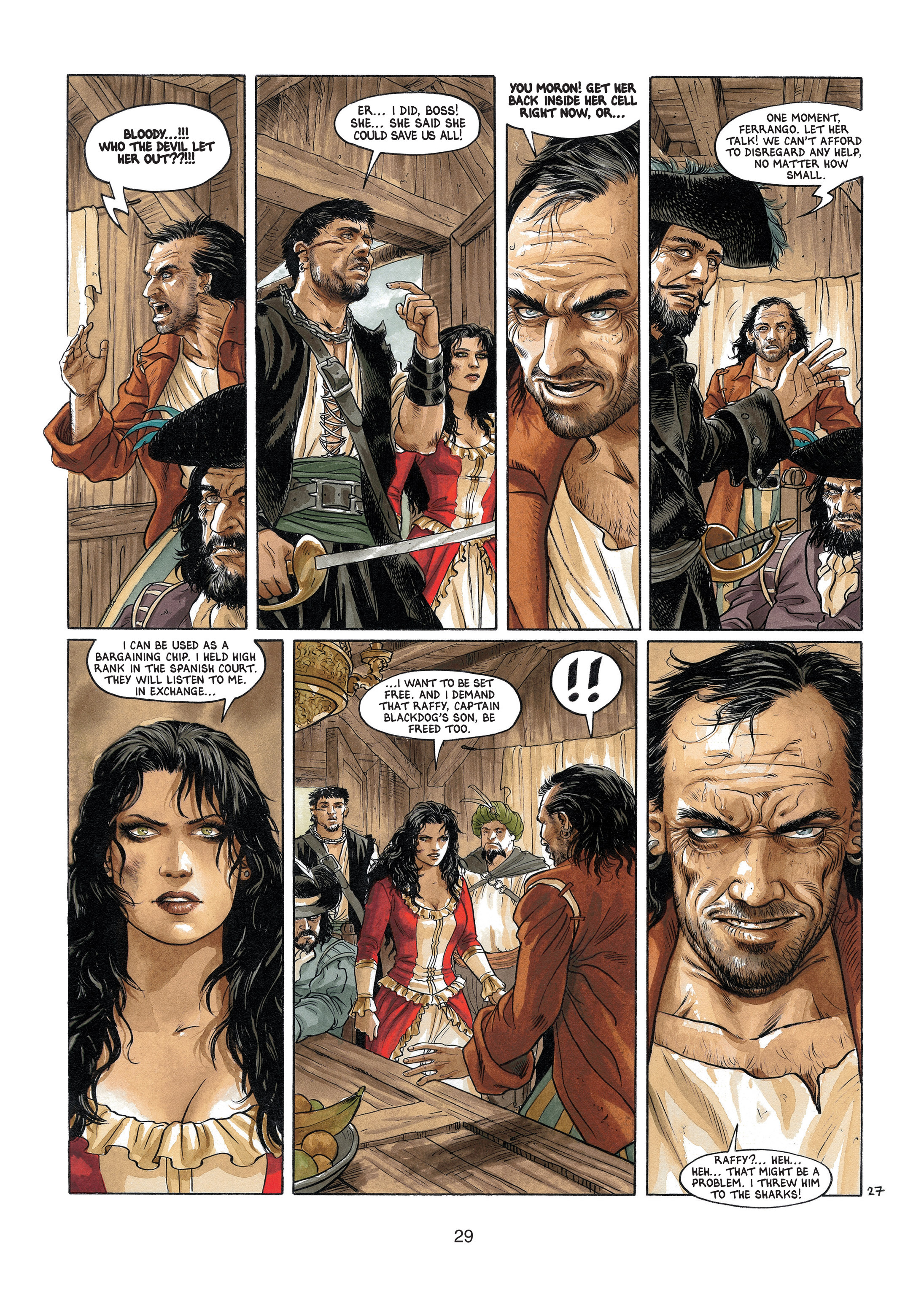 Read online Barracuda comic -  Issue #4 - 30