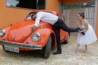Casamento Katiane e Paulo em Chácara Favorita Suzano - SP paixão por fusca, #FuscaLove #fusca