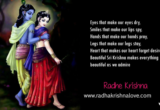Radha Krishna Love Messages In English
