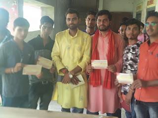 abvp-jhanjharpur-membership-campaign
