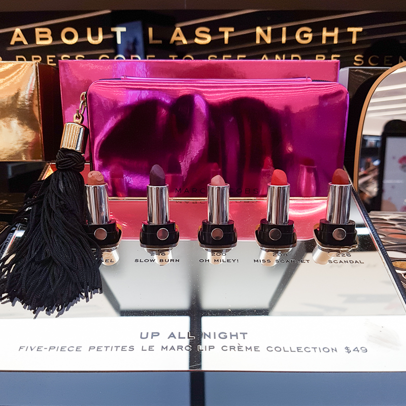 Marc Jacobs Up All Night Le Marc Lip Creme Lipsticks Set