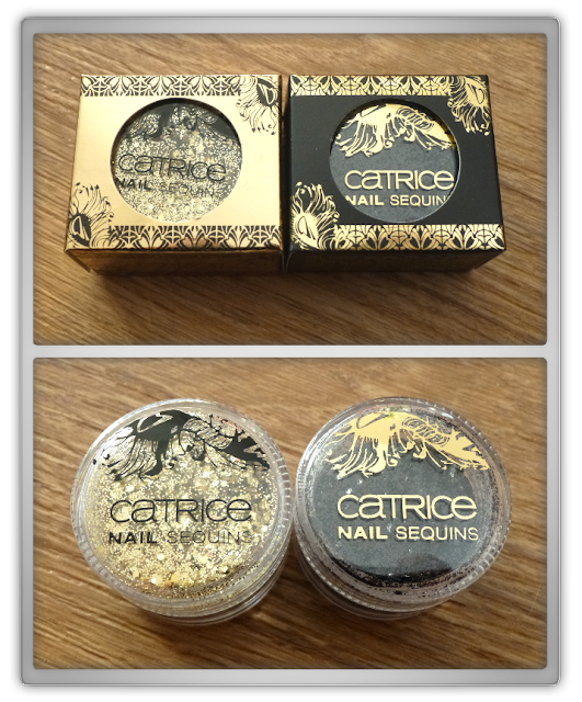 Catrice - Limited Edition Feathers & Pearls -  Nails Sequins C01 Golden Twenties & C02 Running wild