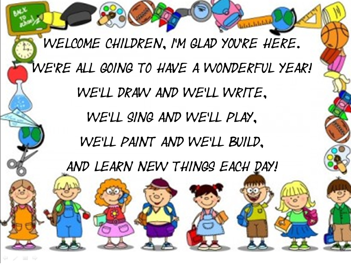 Resultado de imagen de welcome to school images