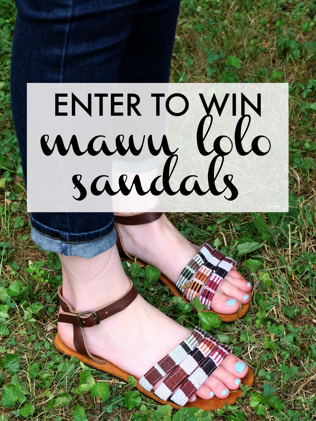 Mawu Lolo sandals review and giveaway - free ethical sandals