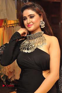 Sony Charista looks irrestible in black dress at Desire Exhibition