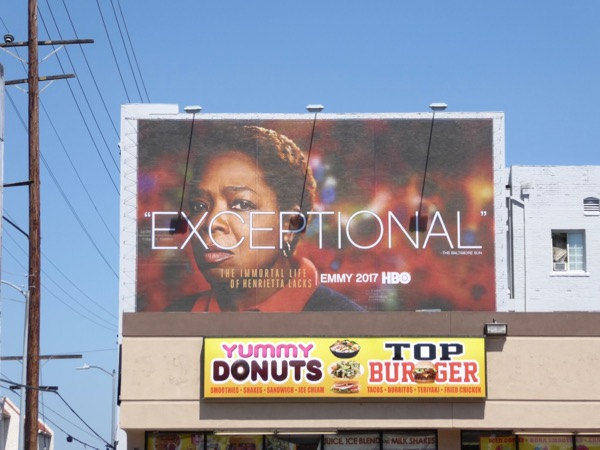 Henrietta Lacks 2017 Emmy FYC billboard