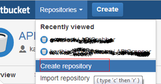Creating a new Repository in Bitbucket | C# Guide - C#, Asp