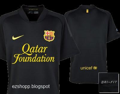 low priced 0c787 514a3 ezshopp: new black Barcelona jersey 11/12, coming soon