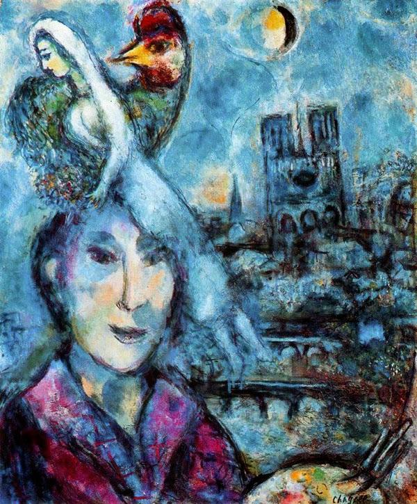 Autorretrato - O Surrealismo glorioso de Marc Chagall