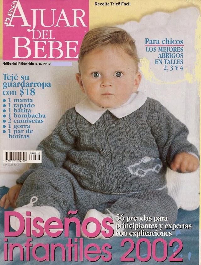 Ajuar Del Bebê N° 10-Revista Tricô Para Bebês