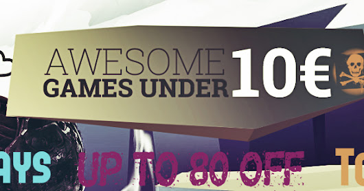 Top Gaming Deals Under 10 EURO [Up To 80% OFF] + Latest Giveaways