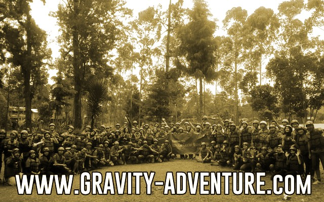 rafting bandung gravity adventure pangalengan