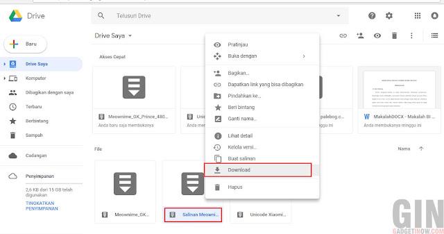 mengatasi file tidak bisa didownload/error di google drive