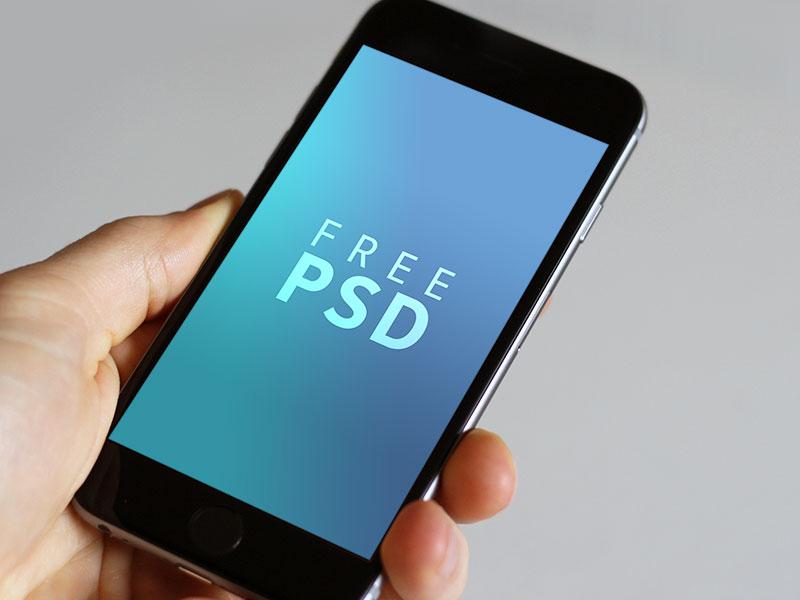 iPhone 6/6s PSD Mockup