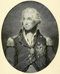 Admiral Lord Nelson after the painting by John Hoppner  in Miller's edition of Robert Southey's Life of Nelson (1896)