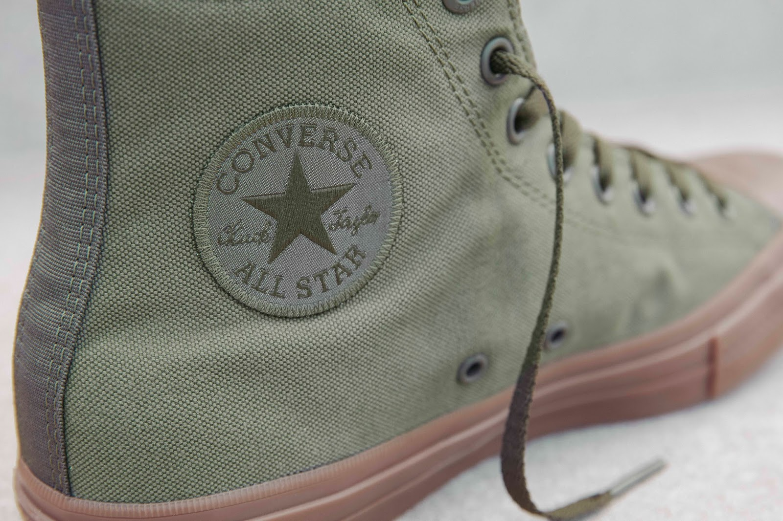 b19b56e0f7cc The Converse Chuck Taylor All Star II Gum is the sequel to the classic All  Star sneaker. It mixes things up with gum rubber soles instead of a regular  ...
