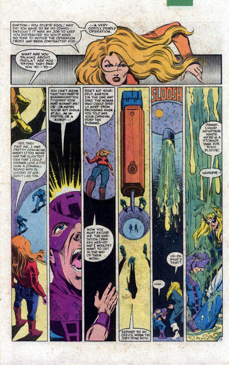 Hawkeye (1983) Issue #1 #1 - English 20