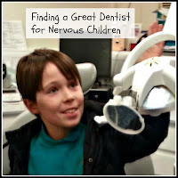 Boy in Dentist Chair with Title Overlaid
