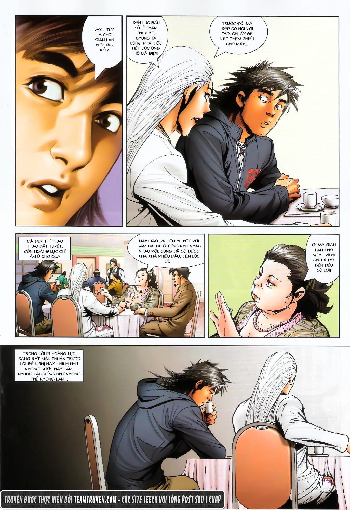 Người Trong Giang Hồ NetTruyen chap 1487 - Trang 12
