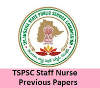 TSPSC Staff Nurse Previous Papers