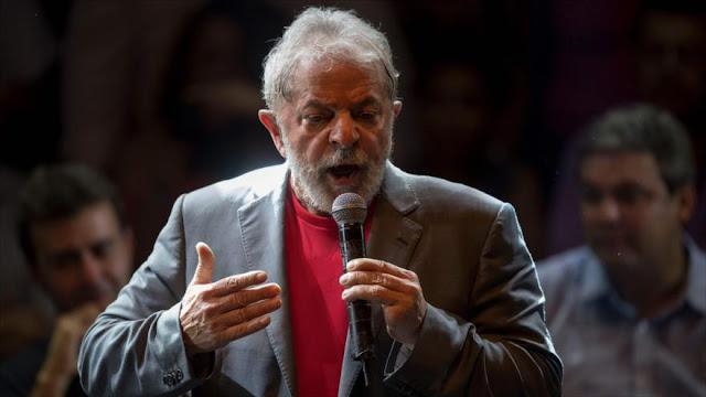 """Lula denuncia subordinación de """"golpistas"""" a intereses de EEUU"""