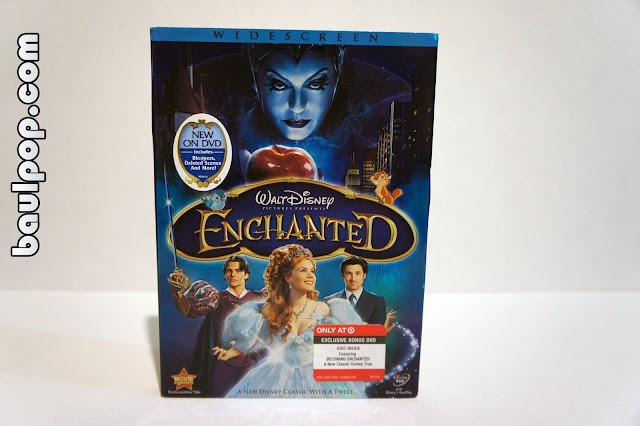 Enchanted, DVD exclusivo Target + Blu-ray