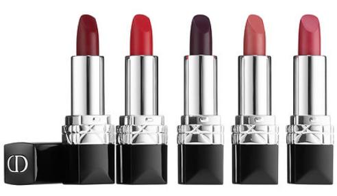 2. Ensemble de mini rouges à lèvres Dior