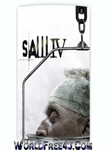 Poster Of Hollywood Film Saw IV (2007) In 300MB Compressed Size PC Movie Free Download At worldfree4u.com