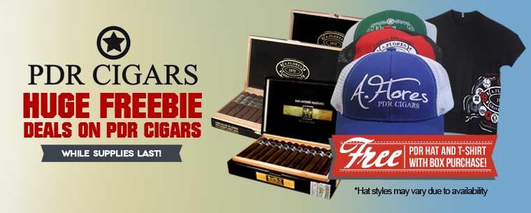 Cigar freebies