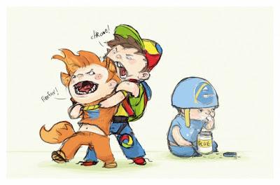 Firefox versus Chrome