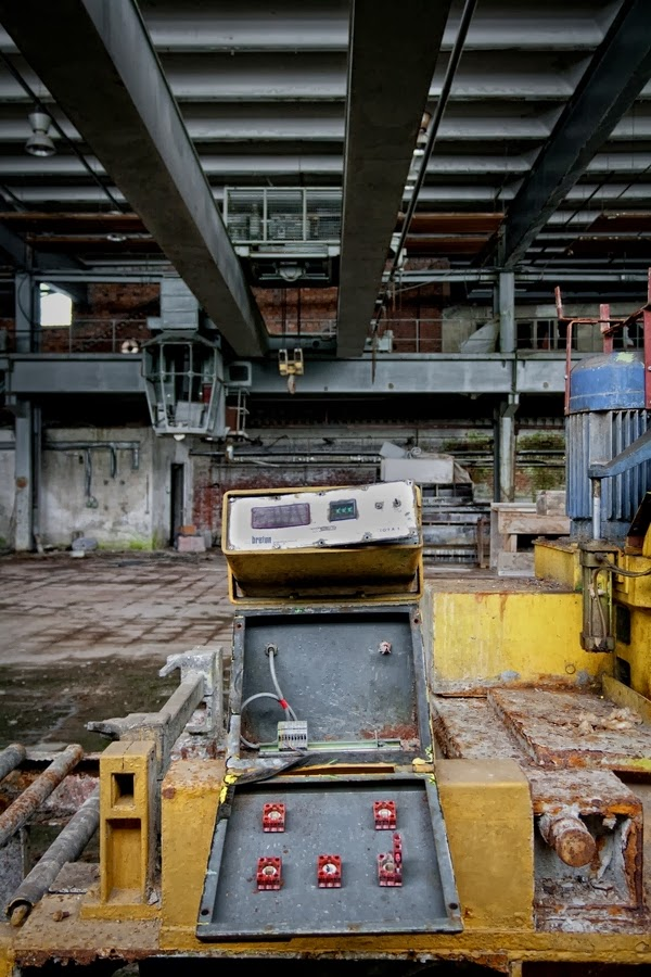 Doctor Ojiplático. Marcus Jendretzke. Industrial Silence II. Abandoned Zone. Fotografía | Photography