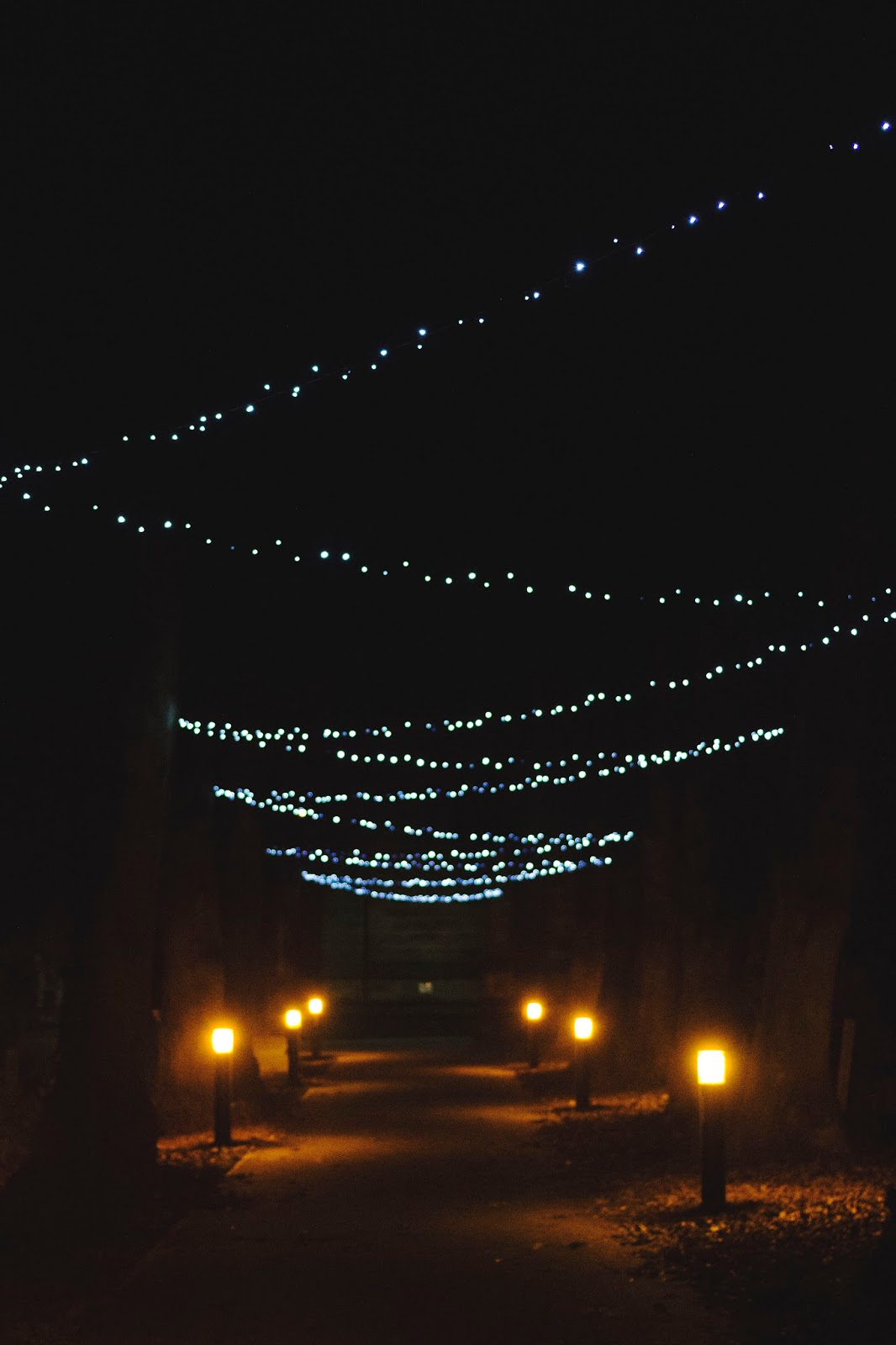 Christmas Lights, Katie Writes, St. Peter's Church Belper, Derbyshire,