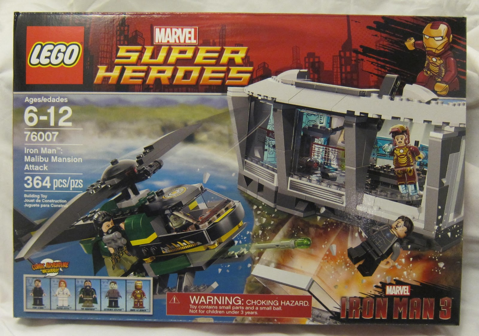 Buried in Bricks: Iron Man 3 Malibu Mansion Attack - 76007 LEGO Review