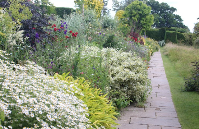 The famous Long Border at Great Dixter