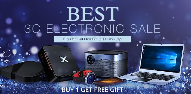 Promoção Best 3C Electronic na Gearbest