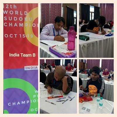 Team India B @ WSC 2017