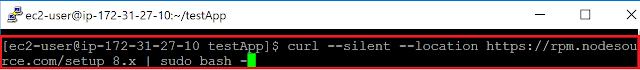 Railsサーバー起動のためにNode.jsインストール6