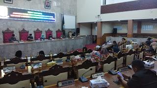 Rapat Paripurna Kab Cirebon, Bentuk Empat Pansus Raperda